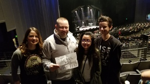 MSgt Travis H attended Rock of Ages - Matinee on Nov 24th 2018 via VetTix