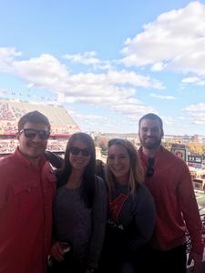 Pat attended University of Maryland vs. Michigan State - NCAA Football on Nov 3rd 2018 via VetTix