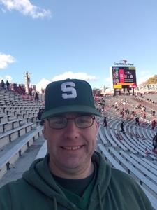 Robert attended University of Maryland vs. Michigan State - NCAA Football on Nov 3rd 2018 via VetTix
