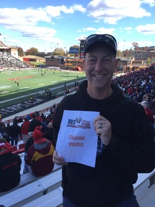 Troy attended University of Maryland vs. Michigan State - NCAA Football on Nov 3rd 2018 via VetTix