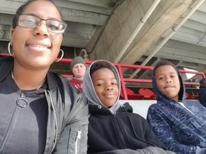 Quitasha attended University of Maryland vs. Michigan State - NCAA Football on Nov 3rd 2018 via VetTix