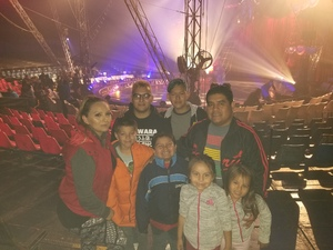 Guillermo attended Circus Vargas on Nov 1st 2018 via VetTix