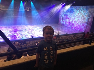 Derrick attended Disney on Ice: Worlds of Enchantment - Special Instructions & Information * See Notes Before Claiming! on Nov 9th 2018 via VetTix