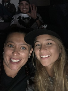 Amber attended Cole Swindell and Dustin Lynch: Reason to Drink Another Tour on Nov 2nd 2018 via VetTix