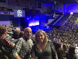 Scott attended Chris Young: Losing Sleep World Tour 2018 - Country on Nov 3rd 2018 via VetTix
