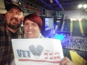 Stacey attended Chris Young: Losing Sleep World Tour 2018 - Country on Nov 3rd 2018 via VetTix
