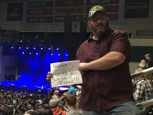 Christopher attended Chris Young: Losing Sleep World Tour 2018 - Country on Nov 3rd 2018 via VetTix