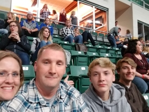 Holly attended Chris Young: Losing Sleep World Tour 2018 - Country on Nov 3rd 2018 via VetTix