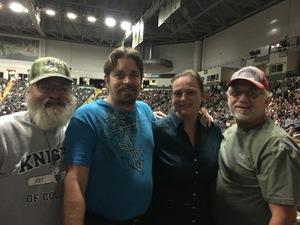 Pamela Hart attended Chris Young: Losing Sleep World Tour 2018 - Country on Nov 3rd 2018 via VetTix