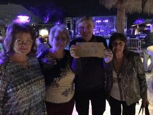 Adrian attended Super Diamond - the Neil Diamond Tribute - *see Notes on Nov 10th 2018 via VetTix