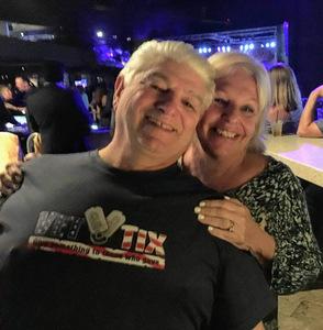 Alan attended Super Diamond - the Neil Diamond Tribute - *see Notes on Nov 10th 2018 via VetTix