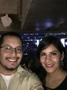 Jose attended Ed Sheeran - 2018 North American Stadium Tour - Pop on Oct 27th 2018 via VetTix