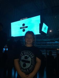 Jodi attended Ed Sheeran - 2018 North American Stadium Tour - Pop on Oct 27th 2018 via VetTix