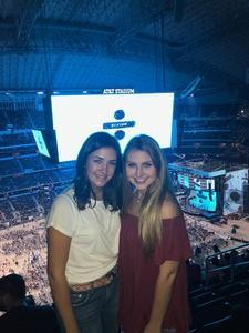 Tiffany attended Ed Sheeran - 2018 North American Stadium Tour - Pop on Oct 27th 2018 via VetTix