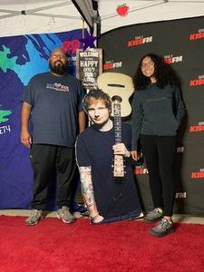 Takako attended Ed Sheeran - 2018 North American Stadium Tour - Pop on Oct 27th 2018 via VetTix