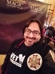 Rick attended Champions of Magic - Magic on Nov 3rd 2018 via VetTix