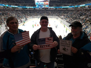 Lewis attended San Jose Sharks vs. Calgary Flames - NHL - Military Appreciation Night - Regular Game Tickets on Nov 11th 2018 via VetTix