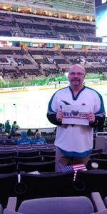 Clarence attended San Jose Sharks vs. Calgary Flames - NHL - Military Appreciation Night - Regular Game Tickets on Nov 11th 2018 via VetTix