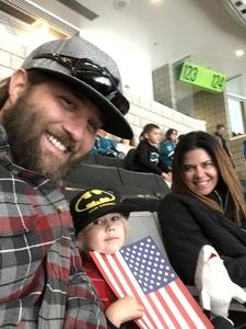 Peter attended San Jose Sharks vs. Calgary Flames - NHL - Military Appreciation Night - Regular Game Tickets on Nov 11th 2018 via VetTix