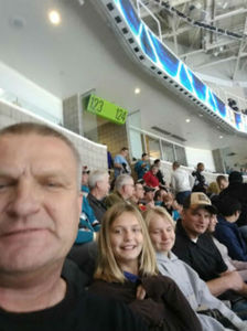 John attended San Jose Sharks vs. Calgary Flames - NHL - Military Appreciation Night - Regular Game Tickets on Nov 11th 2018 via VetTix