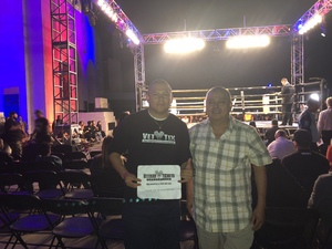 Daniel attended Lion Fight 50 - Muay Thai - Specific Ticket Pick Up Instructions - Standing Room Only - Tracking Attendance on Nov 3rd 2018 via VetTix