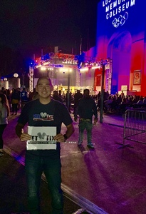 Jeong attended Lion Fight 50 - Muay Thai - Specific Ticket Pick Up Instructions - Standing Room Only - Tracking Attendance on Nov 3rd 2018 via VetTix