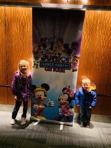 Ben attended Disney Junior Dance Party Tour on Nov 7th 2018 via VetTix