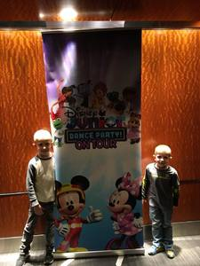 Barton attended Disney Junior Dance Party Tour on Nov 7th 2018 via VetTix