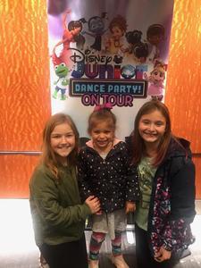 Stephen attended Disney Junior Dance Party Tour on Nov 7th 2018 via VetTix