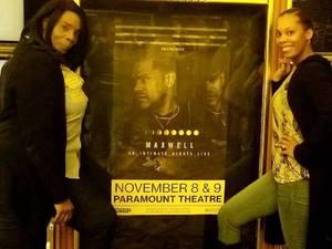 BREONA attended Maxwell - R&b on Nov 8th 2018 via VetTix
