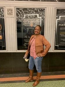 Tamara attended Maxwell - R&b on Nov 8th 2018 via VetTix
