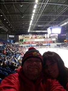 Shane attended Rockford Icehogs vs. Iowa Wild - AHL on Jan 6th 2019 via VetTix