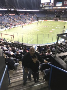 John attended Ontario Fury vs TBA - MASL - Preseason Game One on Nov 10th 2018 via VetTix