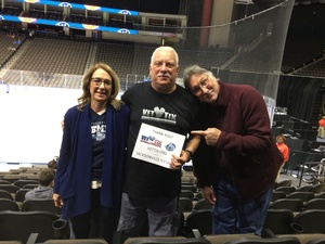 Louis attended Jacksonville Icemen vs. Newfoundland Growlers - ECHL on Nov 21st 2018 via VetTix