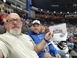 Louis attended Jacksonville Icemen vs. Newfoundland Growlers - ECHL on Nov 21st 2018 via VetTix