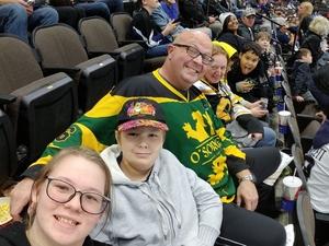 Michael attended Jacksonville Icemen vs. Newfoundland Growlers - ECHL on Nov 21st 2018 via VetTix