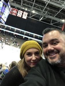 Brenden attended Jacksonville Icemen vs. Newfoundland Growlers - ECHL on Nov 21st 2018 via VetTix
