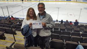 Wayne attended Jacksonville Icemen vs. Newfoundland Growlers - ECHL on Nov 21st 2018 via VetTix
