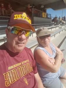 Charles attended Arizona State Sun Devils vs Utah - NCAA Football on Nov 3rd 2018 via VetTix