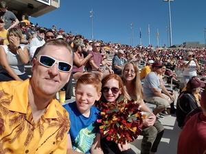 Robert attended Arizona State Sun Devils vs Utah - NCAA Football on Nov 3rd 2018 via VetTix