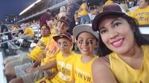 Roman attended Arizona State Sun Devils vs Utah - NCAA Football on Nov 3rd 2018 via VetTix