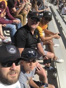 Darrin attended Arizona State Sun Devils vs Utah - NCAA Football on Nov 3rd 2018 via VetTix