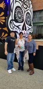 Annette attended Dia De Los Deftones - Heavy Metal on Nov 3rd 2018 via VetTix