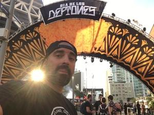 Johnny attended Dia De Los Deftones - Heavy Metal on Nov 3rd 2018 via VetTix