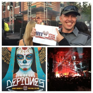 Jason attended Dia De Los Deftones - Heavy Metal on Nov 3rd 2018 via VetTix