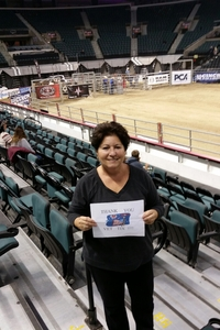 Amalia attended American Finals Rodeo - Rodeo on Nov 10th 2018 via VetTix