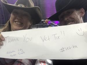 Tracy T. attended American Finals Rodeo - Rodeo on Nov 10th 2018 via VetTix