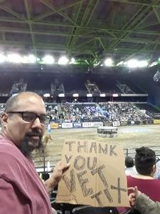 andrew attended The Professional Bull Riders Velocity Tour on Dec 1st 2018 via VetTix