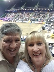 Carina attended The Professional Bull Riders Velocity Tour on Dec 1st 2018 via VetTix