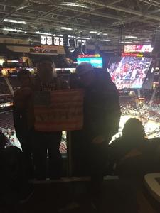 Kerry and relatives attended Cleveland Cavaliers vs. Denver Nuggets - NBA on Nov 1st 2018 via VetTix